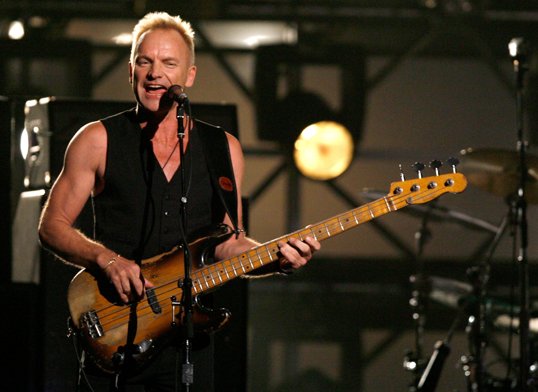 Sting al Pistoia Blues 2015!