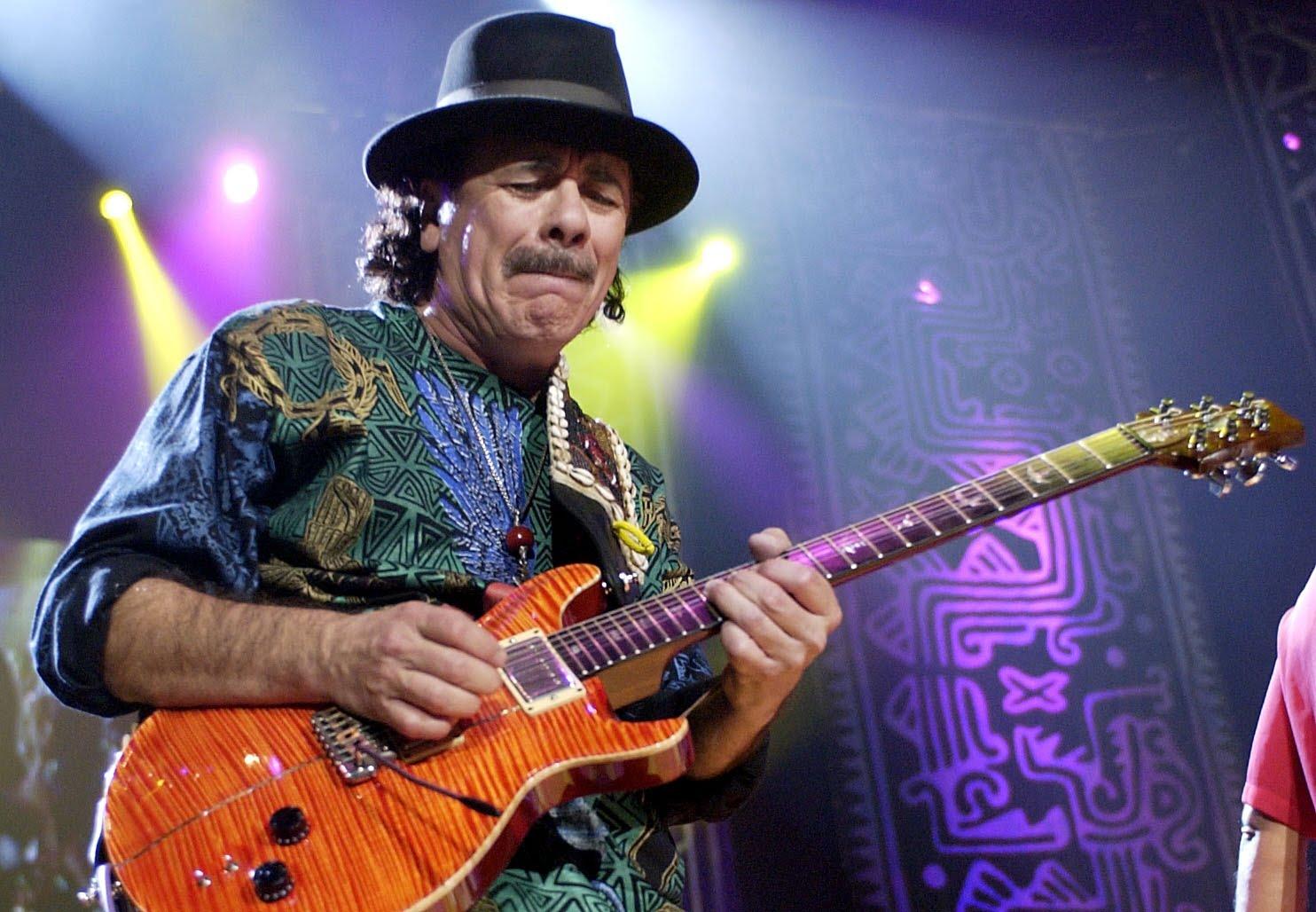 Pistoia Blues, il 21 Luglio arriva Santana!!