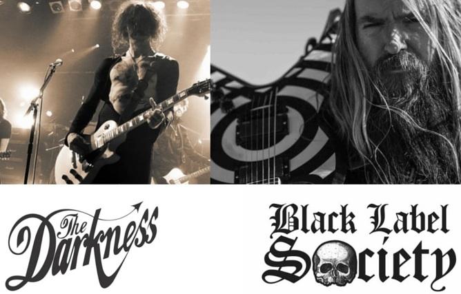 The Darkness e Black Label Society